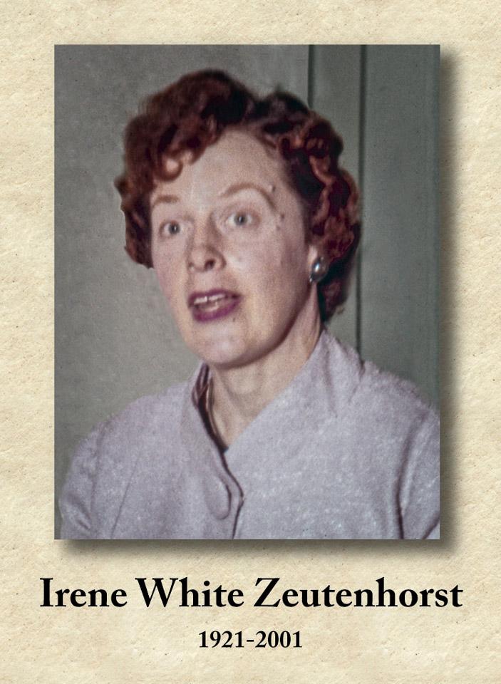 2001-10-12 In Memoriam Aunt Irene. Retro: 1961-03-19, Cowiche, Washington