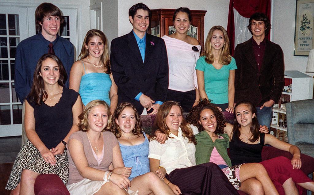 2004-09-18 Conrad and friends celebrate his 18th birthday
