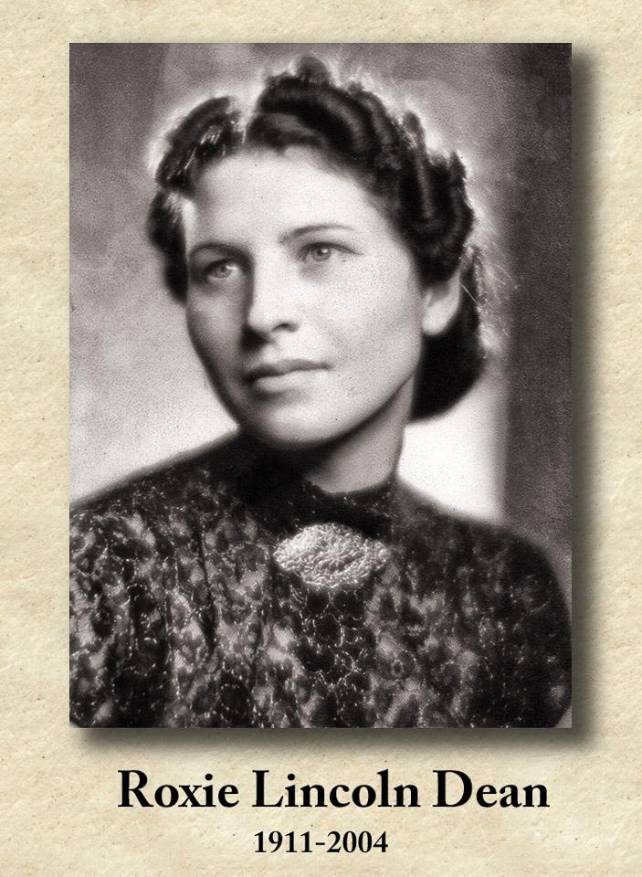 2004-12-08 In Memoriam Great-Aunt Roxie. Retro: 1937